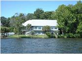 282 TANKERSLEY Road, Wetumpka, AL 36092 - Image 1: View of home from water.