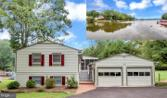 308 MT PLEASANT DRIVE, LOCUST GROVE, VA 22508 - Image 1: : Street View of Home with Waterview inserted
