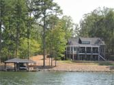 447 Shagbark Court, Mount Gilead, NC 27306 - Image 1: Back of home from lake