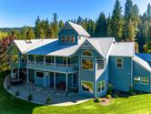 16382 S HIGHWAY 97, Harrison, ID 83833 - Image 1: Aerial back of home-SMALL