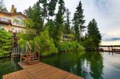 4373 E COVE CT, Hayden, ID 83835 - Image 1: Home View from Dock