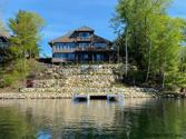 153 BIRDSALL RD, Queensbury, NY 12804 - Image 1: 117 feet of lake front with U shape dock