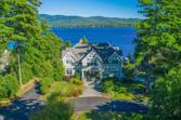 16 COLONY COVE RD, Lake George, NY 12845 - Image 1: Custom-built main house, one of three homes on the compound