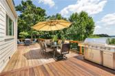 6744 Holiday Point, Buford, GA 30518 - Image 1: New Brazilian Tiger wood deck with 3 sitting areas overlooking lake Lanier