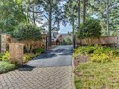 2950 PASS Drive Lot 8-11, Buford, GA 30518 - Image 1: Exterior Front. BEAUTIFUL IRON GATED ENTRY WITH STONE, BRICK, LAMP POSTS PLUS DRIVEWAY PAVERS