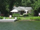 2583 B Sunnyside Rd.  (426), Mina, NY 14736 - Image 1: This is a photo of the home from the lake.   There is 70' of lakefront.   There are no steps down to the lake.