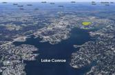 0 Walden, Conroe, TX 77356 - Image 1: Aerial view looking over the West branch of Lake Conroe.