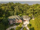 13518 Lakeside Terrace Drive, Houston, TX 77044 - Image 1: Note the deep, mature Forest between exclusive-access Waterfront on Lake Houston and the wonderful 2005 Custom Home, lovely Guest Home, & magnificent English Formal Gardens.  NO FLOODING of these structures EVER, including HURRICANE HARVEY.