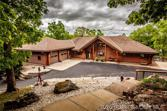 32446 Golden Acres Road, Lincoln, MO 65338 - Image 1: Front entrance to this Beautiful Rocky Mountain Log Home
