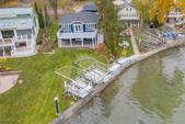 62117 Lake Street, Cassopolis, MI 49031 - Image 1: Drone view of 62117 Lake St