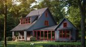 16320 Stones Throw Lane, Union Pier, MI 49129 - Image 1: Lot6Frontgrey