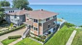 46039 Lake View Avenue, New Buffalo, MI 49117 - Image 1: Front Aerial View