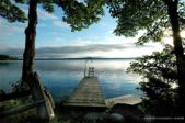 1607 Cathance Road, Cathance Twp, ME 04657 - Image 1: Evening Dock