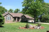 255 SWISS MOUNTAIN DRIVE, Mountain Home, AR 72653 - Image 1: Lovely 3 bdrm 2 bath home in The Summit Subdivision, with beautiful distant views including lake.