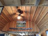 294 Lake O Pines Drive, Jefferson, TX 75657 - Image 1: Loft areas one on each end of the cabin.  Ceiling Is cedar.  There is an attic staircase installed on one end.