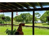 129 Conejos Drive Lot 1332, Nocona, TX 76255 - Image 1: Sit on your deck and enjoy the view (now covered with Suntuf Corrugated Polycarbonate for more natural light)