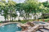 2601 Driftwood Lot 16, Flower Mound, TX 75022 - Image 1: Saltwater play pool and spa with the 'jump off rock