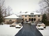 5845 HARTFORD Way, Genoa Twp, MI 48116 - Image 1: Stunning French Colonial Exterior