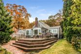 137 Shore Drive, Lyme, CT 06371 - Image 1: View of house from back yard