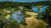 16 Bridge End Farm Lane, Newtown, CT 06482 - Image 1: AERIAL VIEW OF BACK OF HOUSE