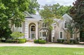 201 Lochview Drive, Cary, NC 27518 - Image 1: House is front and center with circular driveway, Aerial View