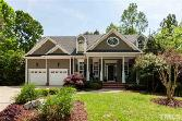 417 Sunset Grove Drive, Holly Springs, NC 27540 - Image 1: Exterior features low maintenance fiber cement siding and welcoming front porch with brick steps. Come on in.....interior features heavy millwork throughout, 10 foot ceilings and hardwoods throughout main floor., Entry