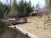 5080 SE ABBEY Lane, Fife Lake, MI 49633 - Image 1: Exterior with River